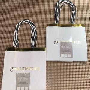 """Groomsman"" gift bag (2 packs)"